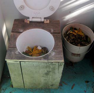The Humanure Toilet - Fixie\'s Shelf