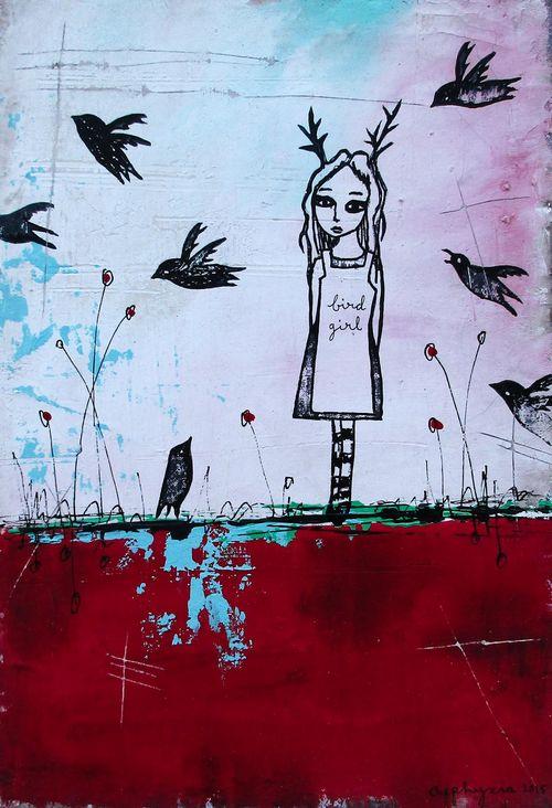 Bird Girl-4
